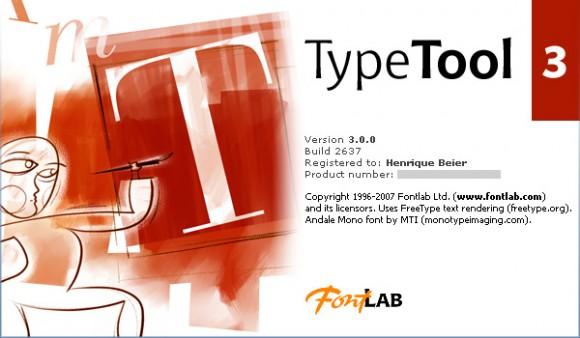 Fontlab TypeTool 3.0.0